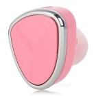 Universal Mini Wireless Bluetooth 4.1 Earphone - Pink + Silver