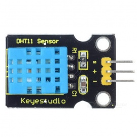 Keyestudio DHT11 Temperature & Humidity Sensor - Black + Blue