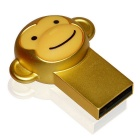 Metallic Cartoon singe style USB 2.0 Flash Drive - Golden (16 Go)