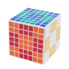 Cubo Magic IQ de ShengShou 7x7x7 69mm - Blanco + Multicolor