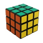ShengShou 3x3x3 Black Background Smooth IQ Cube - Red + Multi-Color