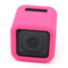 Silicone Case Protective Cover for GoPro Hero 4 Session - Deep Pink