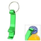 Portable Beer Bottle Opener Keychain - Green
