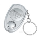 Mini Ultrasonic Electronic Mosquito Repeller / Keychain - Silver