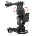 LOTOPOP 360-Degree Rotation Camera Mount for GoPro / Xiaoyi - Black