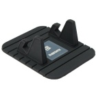 Remax Universal Soft Silicone Car Mount Holder for Cellphone - Black