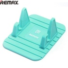 Remax Universal Soft Silicone Car Mount Holder for Cellphone - Blue