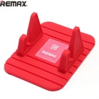Remax Universal Soft Silicone Car Mount Holder for Cellphone - Red