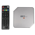 M9 Plus 4K Media Player w/ 2GB RAM, 16GB ROM - Silver (US Plug)