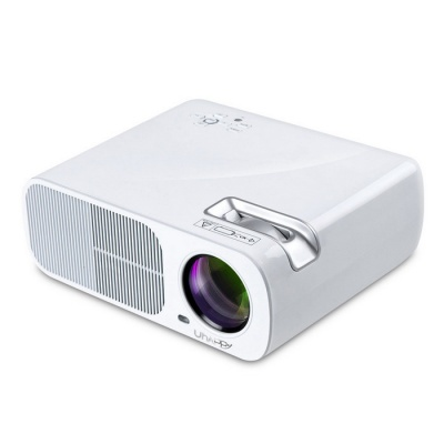 UHAPPY U20 PRO Android 4.4 LCD Projector w/ HDMI, Wi-Fi - White