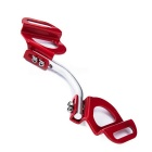 Metallic Automobile Battery Fixing Rack - Red