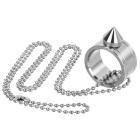 FURA Outdoor EDC Ring Pendant Necklace - Silver