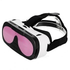 "3D VR Box Video Briller for 4,0 ~ 6,0 ""Smartphones - Hvit + Pink"