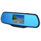 Car DVR Reverse Monitor 120 Degrees Wide Angle, Motion Detection,  Loop Record, with Mic