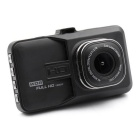 "FH06 3.0"" LCD 1080P Car DVR Vehicle Camera Video Recorder - Black"