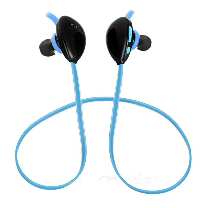 X13 In-Ear Bluetooth V4.1 Sports Earphones w/ Mic. - Black + Blue