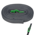 FURA Polypropylene Tie Down Strap Tying Webbing Rope w/ Hook - Green