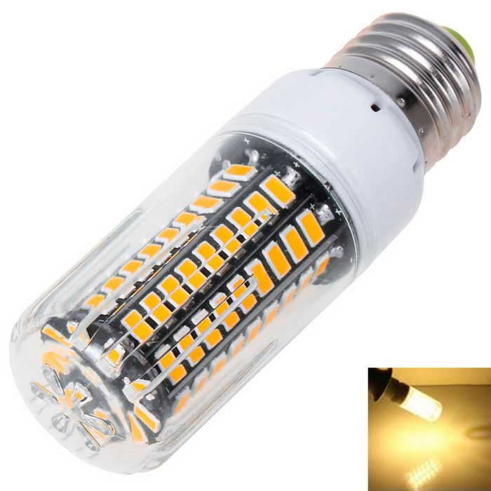 E27 7.5W 90-5733 LED 1100lm 3000K Warm White Light Corn Lamp (AC 110V)