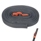 FURA Polypropylene Tie Down Strap Tying Webbing Rope w/ Hook - Orange