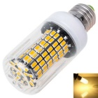 E27 12W Warm White Light LED Corn Lamp - White + Transparent (AC 110V)
