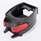 CARKING Car Mount Cup / Mobile Phone Holder - Black + Red