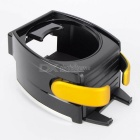 CARKING Car Mount Cup / Mobile Phone Holder - Black + Yellow