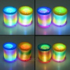JK563 LED Projection Rainbow Circle - Multi-Colored (2PCS)