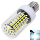 E27 12W Cold White Light LED Corn Lamp - White + Transparent (AC 110V)