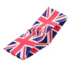 UK Flag Pattern Leinwand Brieftasche - Weiß + Rot
