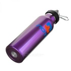 AoTu AT6646 Outdoor Cycling Vaccum Cup Water Bottle - Purple (600ml)