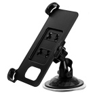 Mini G-Shape Neck Car Mount + Back Clip for Samsung Galaxy S7 - Black