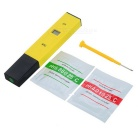"0.6"" LCD Accurate PH Tester Meter  - Yellow + Black"