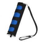 SLR Camera Handheld Stabilizer LED Flashlight Holder - Black + Blue