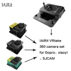IAiRit L700 VRtake 360 Degree Camera Set for GoPro Hero 4 - Black