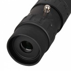 10~90X25 Outdoor Sports Zoom Monocular Telescope - Black