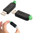 USB para RS485 Adaptadores para Laptops - Black + Green (5PCS)