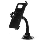 Car Mount Holder + Back Clip Set for Samsung Galaxy S7 - Black