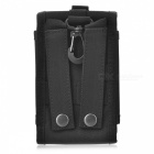 Outdoor tactique Nylon Bag Phone / Case - Black (1L)