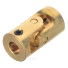Mini 3*3mm Brass Universal Joint for R/C Toy DIY - Brass Color