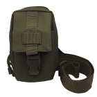 677 Outdoor Mini Cycling Nylon Shoulder Chest Bag - Army Green (20L)