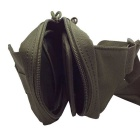 677 Utendørs Mini Sykling Nylon Shoulder Chest Bag - Army Grønn (20L)
