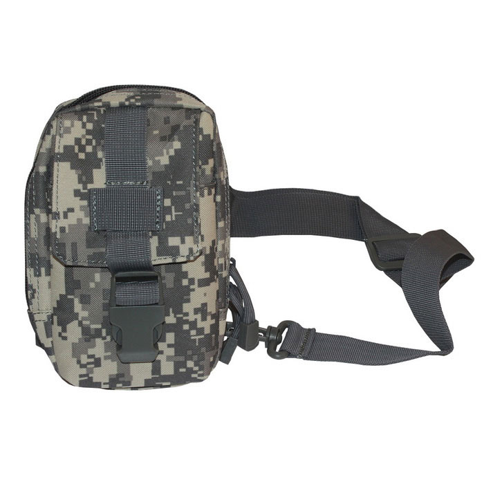 677 Outdoor Ciclismo Nylon Shoulder Peito Bag - ACU Camouflage (20L)