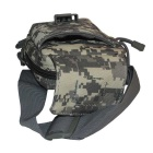 677 Outdoor Cycling Nylon Shoulder Chest Bag - ACU Camouflage (20L)