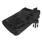 Outdoor Activitives Nylon Hanging Bag - Black