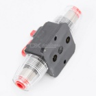 20A Car Protection Audio Inline Circuit Breaker Fuse Holder - Black