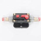 CARKING 30A Car Protection Audio Inline Circuit Breaker Fuse Holder