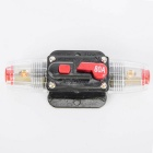 CARKING 80A Car Protection Audio Inline Circuit Breaker Fuse Holder