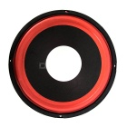 "12V 10"" 100C Butyl Rubber Surround Car Stereo Speaker - Black + Orange"