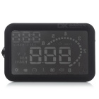 H302 fullfunktions Version HUD Bil Head Up Display System - Svart