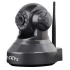 VESKYS C37A HD Wi-Fi Security Surveillance IP Camera - Black (EU Plug)